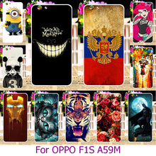 Hard Plastic Mobile Phone Case For OPPO A59 F1S A59M Find 9 5.5 inch Painted Case Cover housing