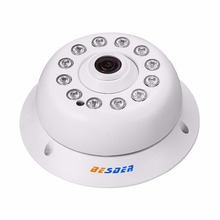 BESDER Fisheye Ip Камера 720 P/1080 P DC 12 В/48 В POE IEEE 802.3af панорамный 180 градусов купольная Крытый Ip Security Камера Onvif(China)