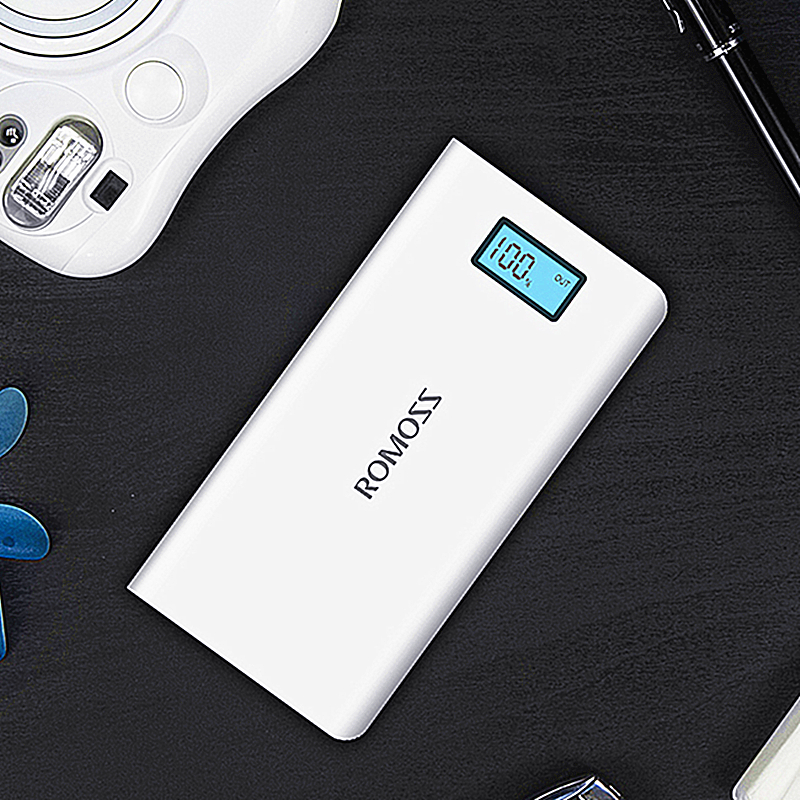 16000mAh Fast Charging Romoss Solo 6 Plus Power Bank Mobile Phone Smart Phone PC Original USB Charger powerbank