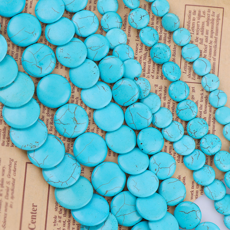 20x30mm Blue Turquoise Bracelet