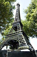 Decoration 60cm Eiffel Tower model for EGYPT Real life escape game props decorate escape room props(China)