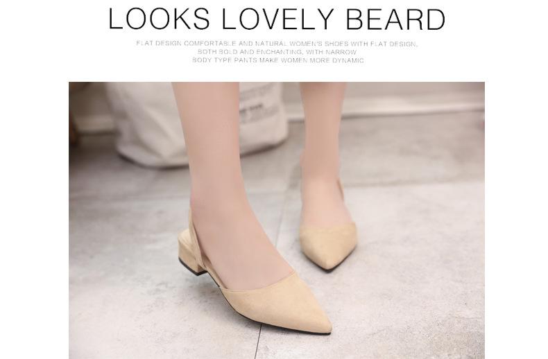 2018 Femmes Pompes Bride à La Cheville Épais Talon Femmes Chaussures 15