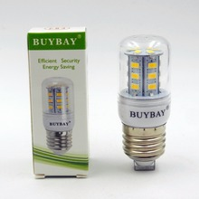 AC 220V/110V E27 E14 led corn bulb SMD 5730 24LEDs 250-399LM Warm white/cool white 3W led lamp fast shipping low price