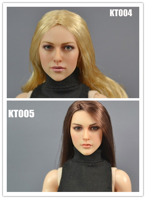 1/6 scale figure head shape for 12 Action figure doll European and American beauty Female head for figure, not include body<br><br>Aliexpress