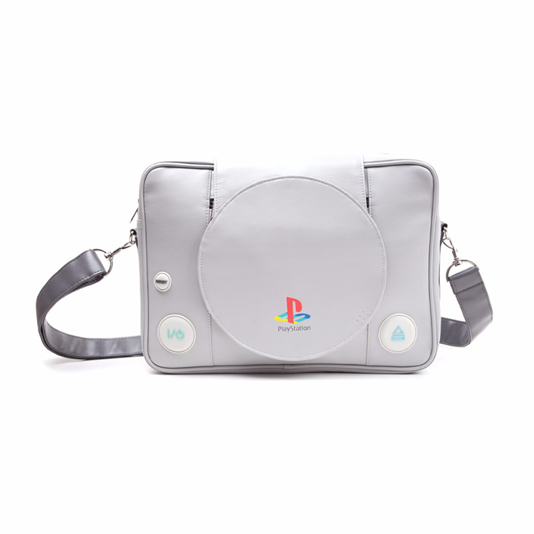 Fashion classical game console play station 1/PS one/PS1 game console style shoulder bag gift for gamers for boy friend AB168<br>