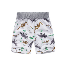 2017 Summer Brand Boys Shorts Dinosaur Kids Boys Casual Cotton Shorts Pants Baby Toddler Boys Shorts Pants Children's Shorts