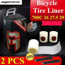 2pcs Bicycle tire liner Puncture proof for 20 24 700C 26 27.5 29er inch Road MTB Bike Tire tyre protection pad Bicycle parts