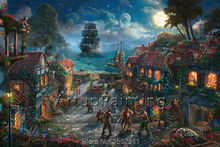Thomas Kinkade Oil Paintings Tangled Art Decor Painting Giclee Canvas Wall Picture Art Framed Cuadros Spray Posters and Print 17