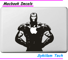 Iron Man Superhero for apple Sticker Macbook Skin Air 11 12 13 Pro 13 15 17 Retina Decal Loptop Wall Car Vinyl Logo Case