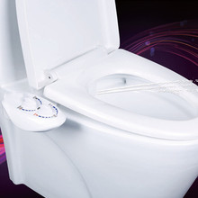 Hygiene Bidet Toilet Seat Attachment Hot and cold water ABS Toilet Seat Bidet Unisex Easy to Install No electricity(China)