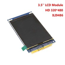 3.5 Inch 320 X 480 TFT LCD Display Module W. SD Slot PCB Drive IC ILI9486 For Arduino STM32 C51 DEMO