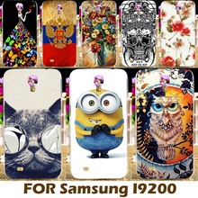 DIY Painting design Hard Plastic Case For Samsung Galaxy Mega 6.3 I9200 I9205 6.3 inch 9200 Phone Cover Protective Sleeve Para