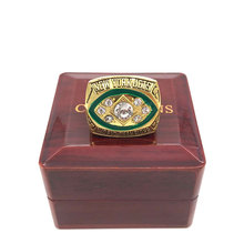 Factory price 1968 New York Jets Super Bowl 3 championship rings replica NAMATH solid ring display box drop shipping(China)