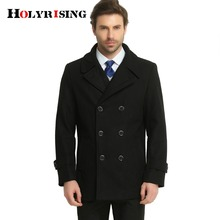 mens cashmere coat winter jacket men manteau homme Male medium long men wool coatovercoat leisure wear overcoat(China)