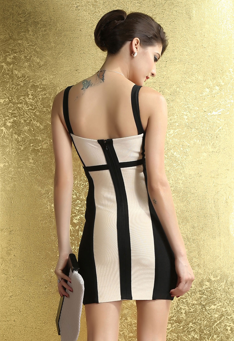 Sexy-Bodycon-Black-and-Beige-Corset-Bandage-Dress-LC28059-10953