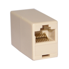 10 Pcs Wholesale RJ45 Coupler Cat 5e straight(China)
