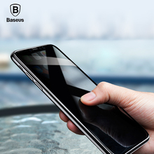 Buy Baseus 3D Tempered Glass Screen Protector iPhone X Privacy Glass Film iPhone X Anti Peeping Glass Film Protective Glass for $7.99 in AliExpress store