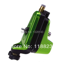 Pro Neuma Style New Rotary Tattoo Machine Gun tattoo machine for Shader & Liner Both Pneumatic Electric 1SET Yellowish Green