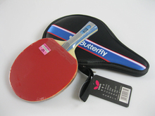 100% original Butterfly TBC 602 Table Tennis Ping Pong Racket Paddle Bat Blade Shakehand FL/CS Raquete De Ping Pong(China)