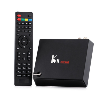 KII Pro Cuadro de TV Android 2 GB + 16 GB DVB-S2 DVB-T2 Amlogic S905 Quad-core Bluetooth Smart Media jugador