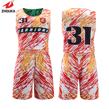 Mini Order 5 pcs Colorful New O-collar sleeveless reversible basketball jerseys