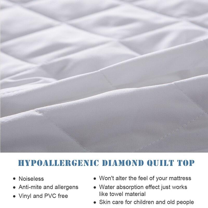 waterproof,Diamond Quilt Mattress cover (1)