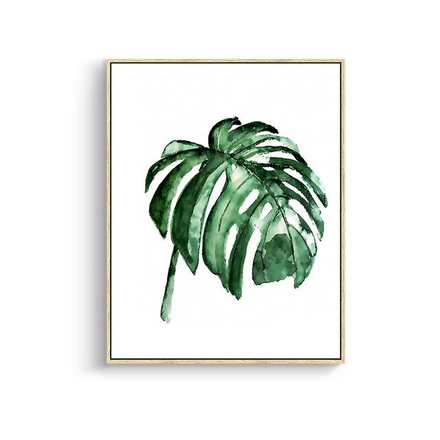 Modern-Green-Tropical-Plant-Leaves-Canvas-Art-Print-Poster-Nordic-Green-Plant-Wall-Pictures-Kids-Room.jpg_640x640 (1)