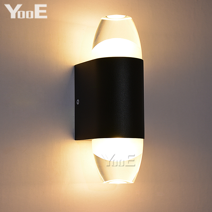 Indoor 6W COB LED Wall Lamp AC110V/220V bedroom Decorate sconce Cold White / Warm White  Light Free shipping<br>