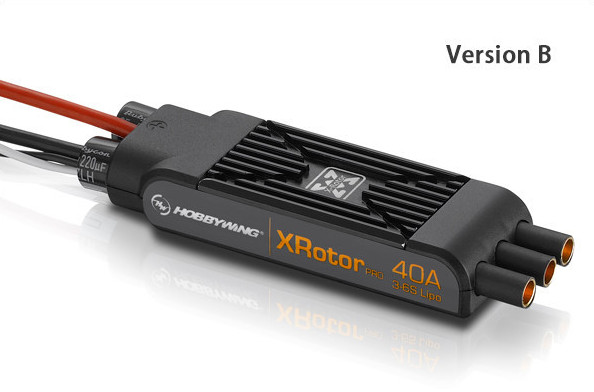 1pair Hobbywing xrotor pro 40aESC wire  COB  versione a b 2PCS<br>