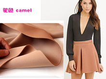 "Camel Interlayer Spacer Fabric Spandex Fabric Knitted Fabric Skirt Jacket Suits outfit 60"" wide Sold By The yard(China)"