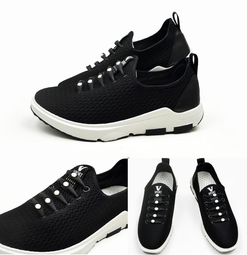 12pcslot Round No Tie Shoelaces Elastic Silicone Shoe Lace Multicolor Design Unisex Women Athletic Running For Shoes (22)