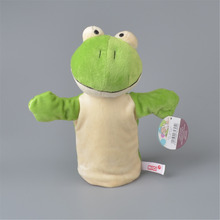 NICI Frog Plush Hand Puppet, Wholesale Baby Kids Plush Toy Doll Gift Free Shipping(China)