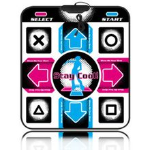Video Game USB Non-Slip Dance Pads Dancing Step Mat Pad Blanket exercise tools for PC Laptop