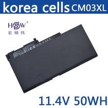 HSW Laptop Battery for HP CM03XL CM03050XL HSTNN-IB4R HSTNN-L11C-5 716724-1C1 CM03XL FOR EliteBook 840 G1 ZBook 14 E7U24AA(China)