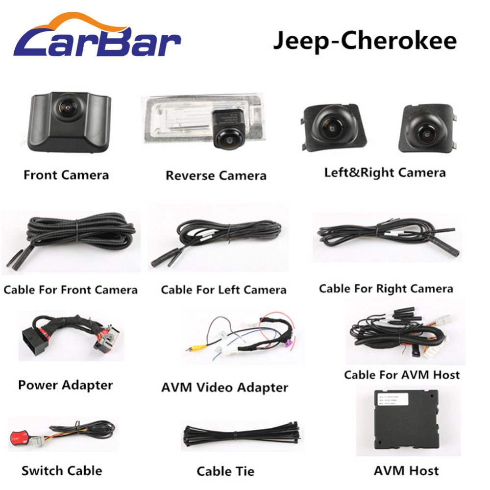 360 camera for Jeep Cherokee (1)