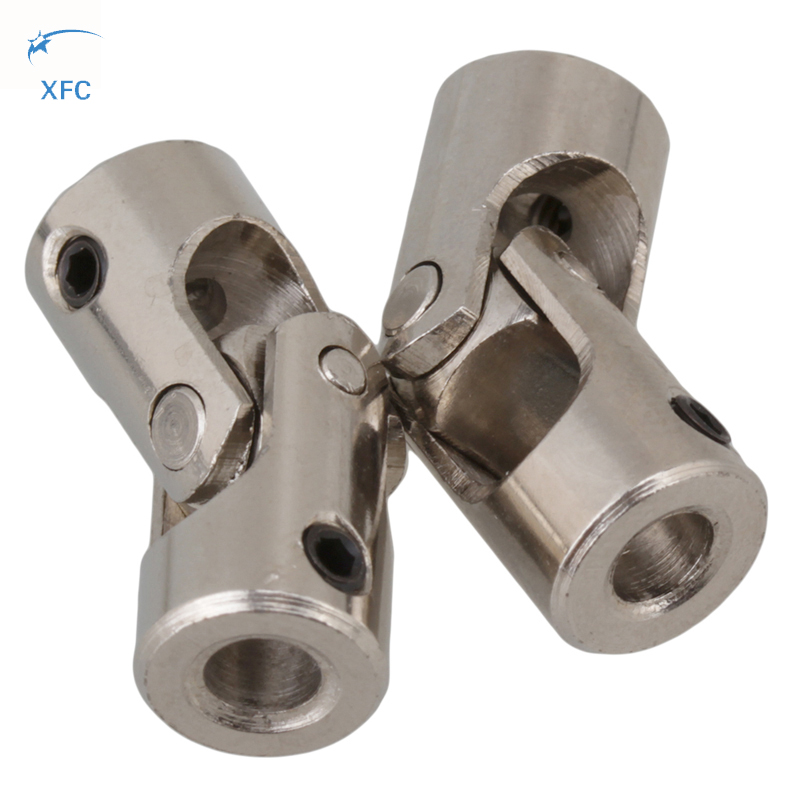 2Pcs XFC 6mm x 6mm Diameter Steering Universal Joint Shaft Coupling Motor Connector<br><br>Aliexpress