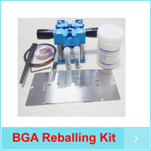 BGA Reballing Kit BGA Stencils For XBOX 360 90mm Reballing Rework Station Solder balls Paste(China)