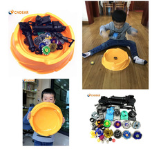 Beyblade arena stadium Metal Fusion 4D Freies System Battle Metal Top Fury Masters launcher and grip children christmas toy(China)