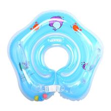 New swimming baby accessories swim neck ring baby Tube Ring Safety infant neck float circle for bathing Inflatable Newest Drop(China)