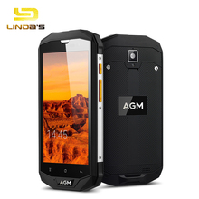"Original AGM A8 IP68 Waterproof Mobile Phone 5.0""HD 3GB RAM 32GB ROM Qualcomm MSM8916 Quad Core 1280x720 13.0MP 4050mAh NFC OTG(China)"