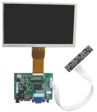 NoEnName_Null Raspberry PI 3/B+ special 7 inch TFT LCD digital display kit HDMI+VGA+2AV With touch panel 1024*600