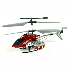 RC helicopter quadcopter Drones 4CH alloy Remote control gyro scope helicopter Toys for boy brinquedos kids gift(China)