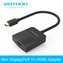 Vention Thunderbolt Mini DisplayPort To HDMI Adapter Cable Display Port DP Cable For Apple MacBook Air Pro iMac Mac Surface Pro(China)