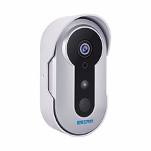 ESCAM Doorbell QF220 Wifi Mini IP Camera HD 960P P2P Wireless Indoor Surveillance Night Vision Security CCTV Camera MAX 64GB(China)