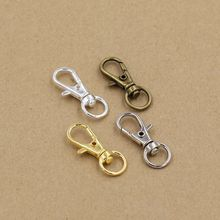 (50 pieces/pack) 32mm length Lobster Swivel Clasps For Bag Charms Key Rings Clasp accessories