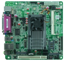 Intel Atom D525 mainboard, x86 mini itx atom motherboard D525 /6*COM/ 2*SATA2 / MSATA(China)