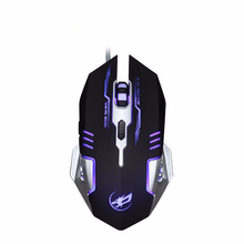 3200DPI USB Wired Gaming Mouse Q9 Gamer 5 Buttons Optical Economics Computer Mice For PC Mac Laptop Game LOL Dota(China)