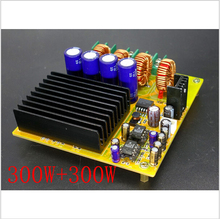 2x300W TAS5630 dual-channel Class D digital power amplifier board with AD827 pre-HIFI free shipping   new