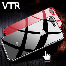 luxury soft tpu case for iphone 5 5s 6s se cover silicone transparent case full cover for iphone 7 7 plus clear Protective Shell(China)