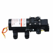 1pc Micro Diaphragm Water Self Priming Pump 100PSI DC 12V 4L/Min Mayitr High Pressure Powerful Automatic Pumps for Car Boat